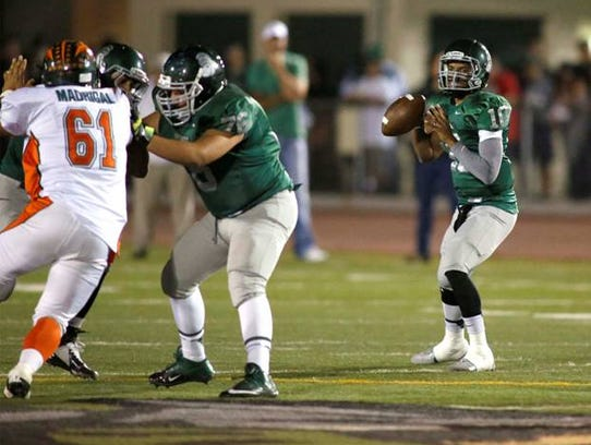 Marcus McMaryion was a two-year starter at Dinuba High
