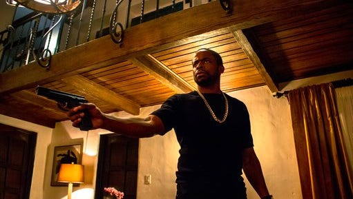 """This image released by WWE Studios shows Dule Hill in a scene from, """"Sleight."""""""