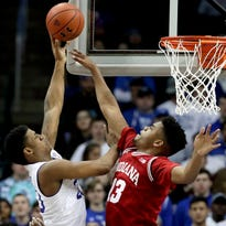 Tale of two halves for IU: Hope in the first, reminder of the work ahead in the second