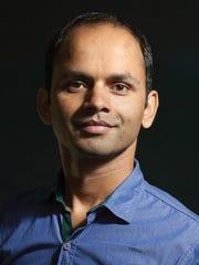 Madhu Nepal, a recent graduate of the I/O Code Academy.