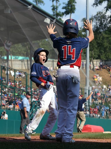 Mid-Atlantic Region Champion, Holbrook Little League, from Jackson, N.J. plays Great Lakes Region Champion, Grosse Pointe Woods-Shores Little League of Grosse Pointe, Mich.at Howard J. Lamade Stadium. Holbrook won 15-5. August 19, 2016, South Williamsport, PA