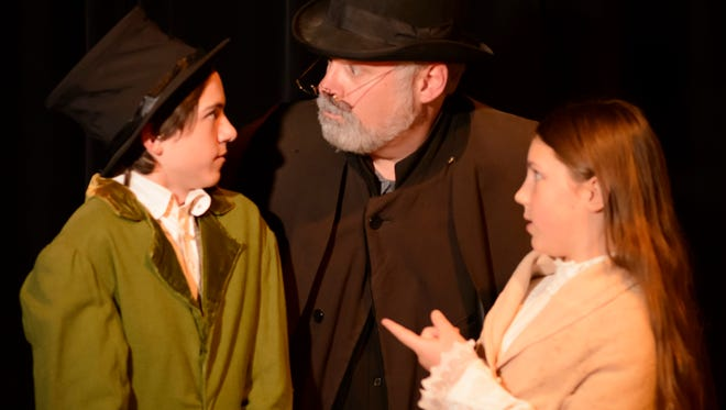 "Catch the final weekend of Bas Bleu Theatre's ""Tiny Tim's Christmas Carol"" Friday and Saturday."