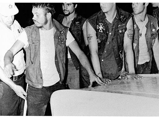 Making life difficult for authorities during the 1967 disturbances in Plainfield was the arrival of the Pagan motorcycle gang, who wanted to enforce their own brand of law and order.