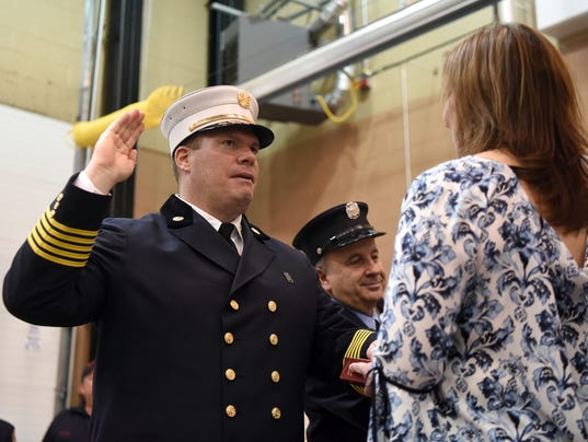 Paterson Fire Chief McDermott
