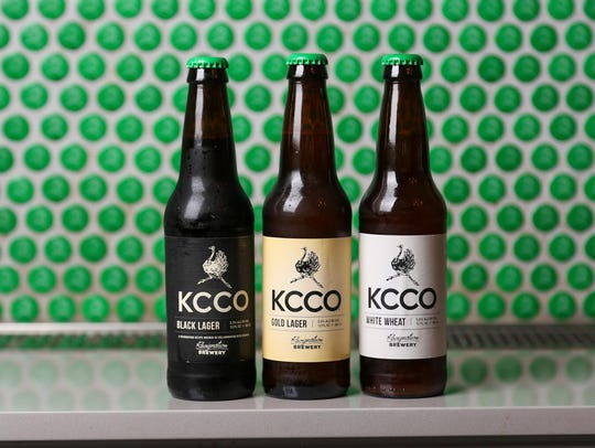 Resignation Brewery's three beers, KCCO Black Lager,