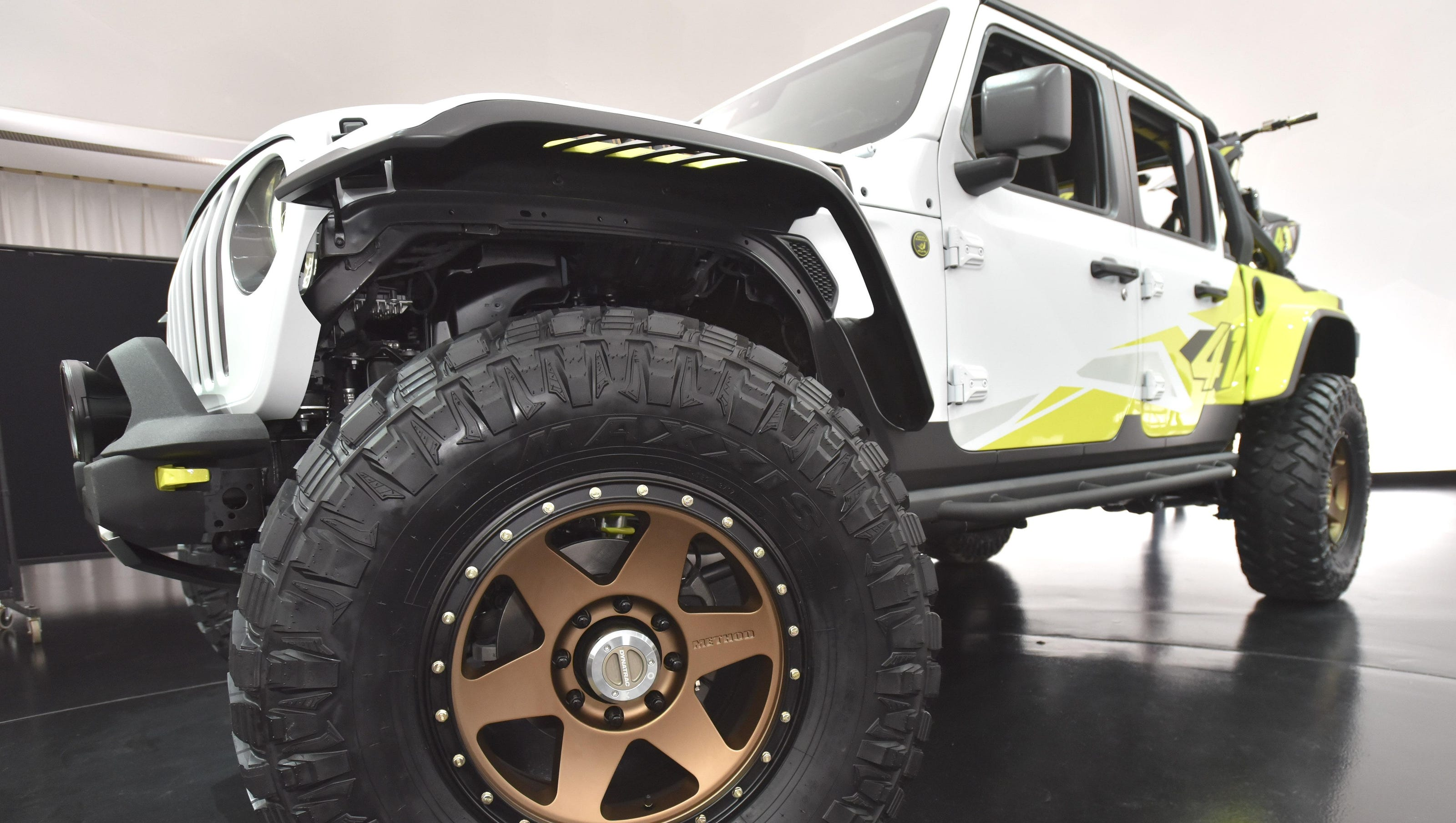 Jeep Goes Wild With Custom Trucks For Annual Easter Safari