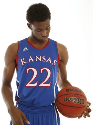 Kansas freshman Andrew Wiggins was the No. 1 recruit in the country in 2013.