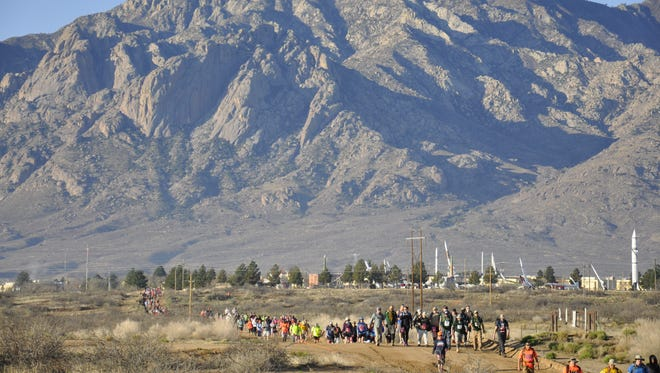 The annual Bataan Memorial Death March will be held at White Sands Missile Range on March 20.