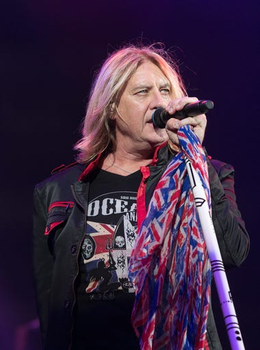 Def Leppard performs at Ak-Chin Pavillion, Wednesday, September 23, 2015, in Phoenix, Arz.