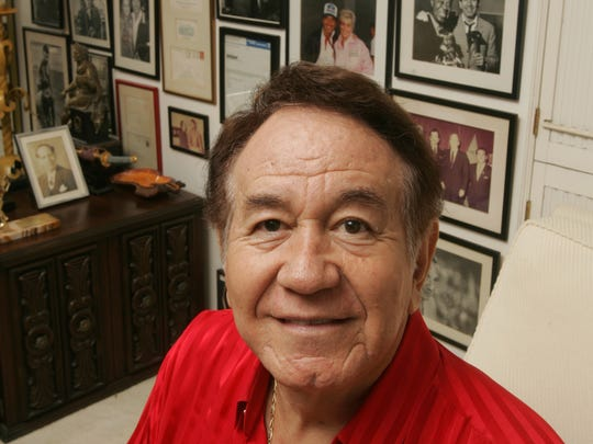 Trini Lopez, shown at his Palm Springs home.