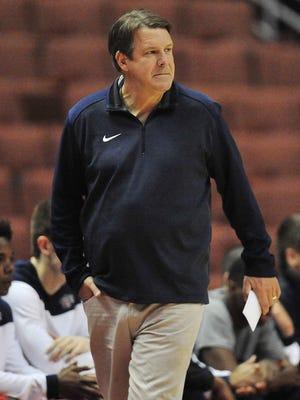 UTEP men's basketball coach Tim Floyd