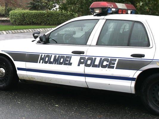 Holmdel police car