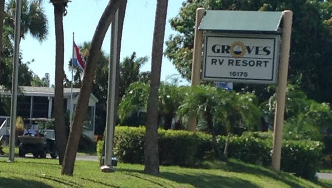 The Lee County Sheriff's Office is involved in a death investigation at Groves RV Park on John Morris Road.