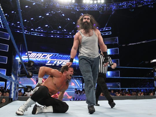 Luke Harper has been showcased on SmackDown Live as part of the WWE.