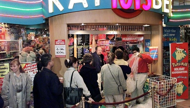 After Thanksgiving Day one of the busiest shopping days of the year takes place. At Marketplace Mall one of the toy stores had people waiting in line as early as 5:45am.