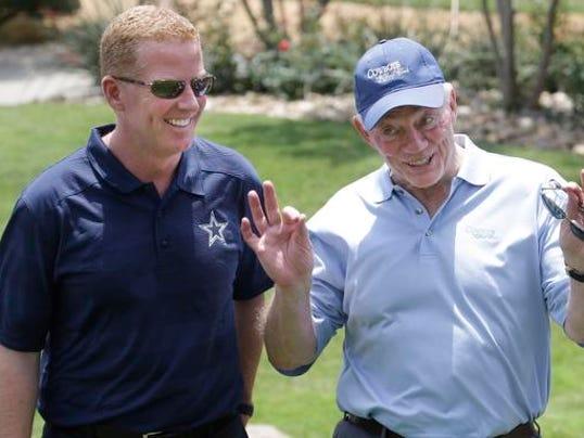Dallas Cowboys owner Jones