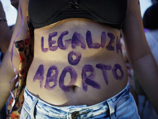 XXX ACTIVISTS IN BRAZIL MARCH FOR WOMEN_S RIGHTS ON INTERNATIONAL WOMEN_S DAY_89674116_11266.JPG I POL SOI BRA