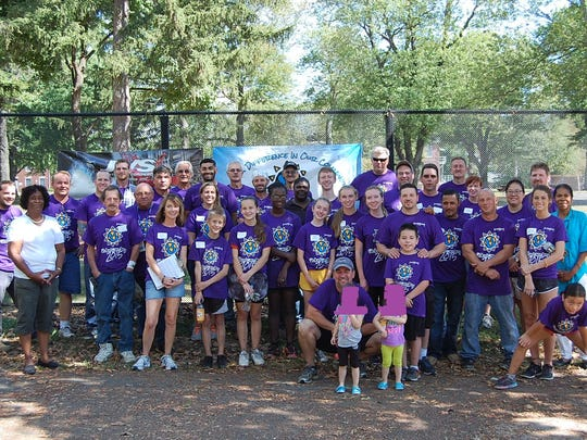Employees from the LyondellBasell Edison Plant and