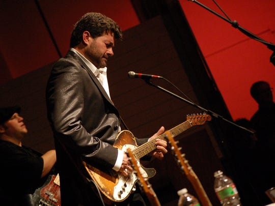 Grammy-nominated Tab Benoit continues his love affair with Tallahassee during a show on Jan. 29 at The Moon.