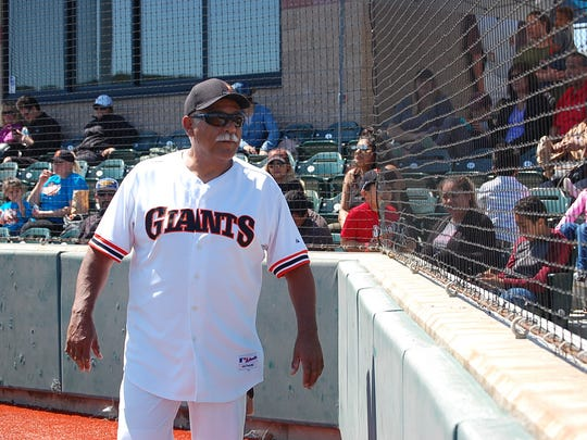 Ernie Camacho, a Salinas native and former Major League