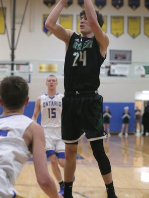 Clear Fork's Brennan South headlines a loaded Clear Fork Colts basketball team in 2018-19.