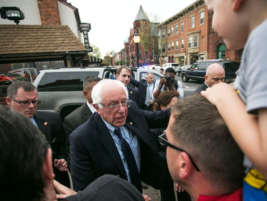 Bernie Sanders in York