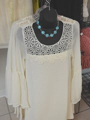 A variety of women's clothing options are available at Pretty Please Boutique in Kewaunee.