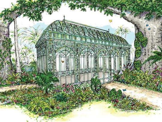 A Victorian-style solarium will soon become a tea room