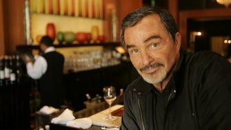 Burt Reynolds at the bar of The Blvd. restaurant in Beverly Hills, Calif. July 29, 2015.