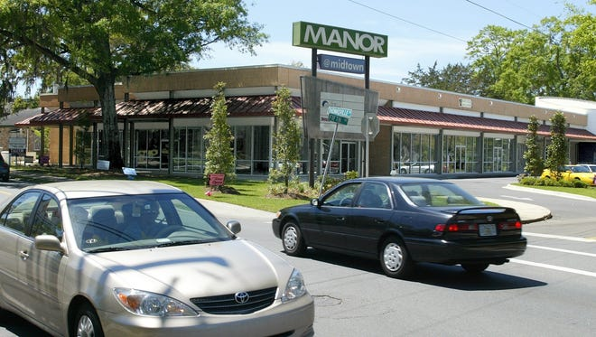 The Manor @ Midtown shopping center on Thomasville Road. Tallahassee city commissioners want more parking spaces in the Midtown area.