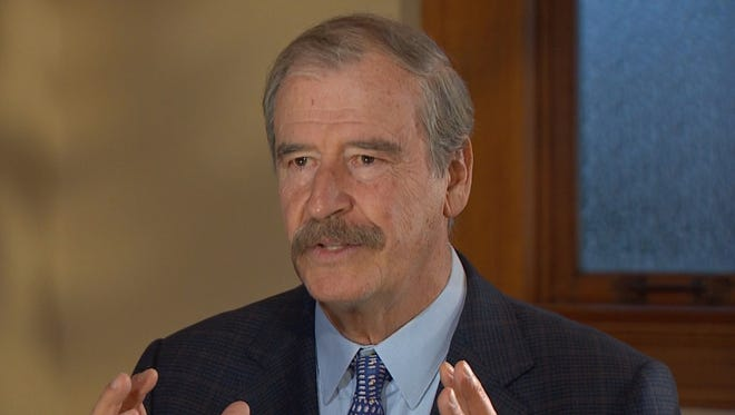 Former Mexican president Vicente Fox dismissed noisy campaign rhetoric in American politics and said his country wants millions of undocumented immigrants to return home.