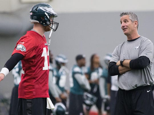 Frank Reich helped mold Carson Wentz into an MVP candidate in just his second season.