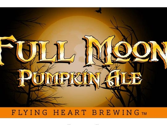 Full Moon Pumpkin Ale is the first pumpkin beer offered by new brewery Flying Heart Brewery.