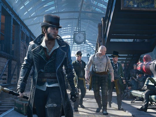 "Liberate Victorian London from the Templars in ""Assassin's Creed Syndicate."""