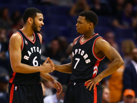 USP NBA: TORONTO RAPTORS AT PHOENIX SUNS S BKN USA AZ
