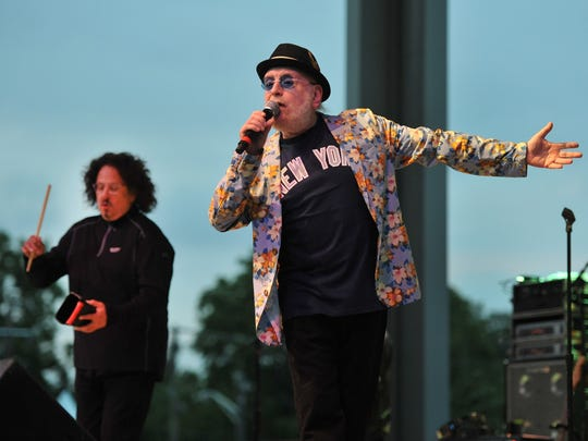 The Turtles (Mark Volman, left, and Howard Kaylan) will perform on Aug. 10 at the Indiana State Fair.