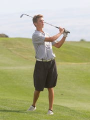 Region 9 golfers compete at The Ledges Golf Course