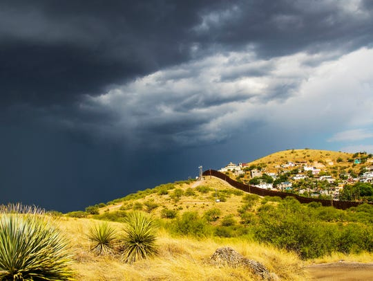 A late-summer monsoon storm is ideal weather for some