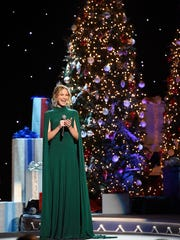 Jennifer Nettles performs at the CMA Country Christmas at the Opry House.  Tuesday Nov. 8, 2016, in Nashville, Tenn.