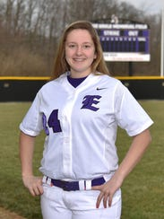 Becca Mowen, Eaton High School softball