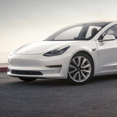 Detroit sedans, Tesla Model 3 missing from NACTOY honors
