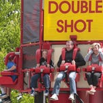 At Playland, a day for mom, Dragon Coaster