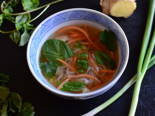 This Thai-inspired chicken soup comes together in 20