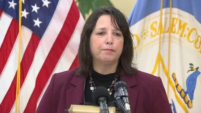 Salem Mayor Kim Driscoll is discourging out-of-town visitors this Halloween season.