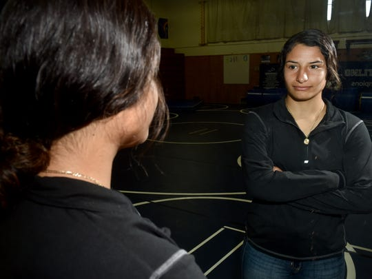 Camarillo High senior Yazmin Gonzalez was the only area girls wrestler to place at the state tournament, finishing sixth at 131 pounds.
