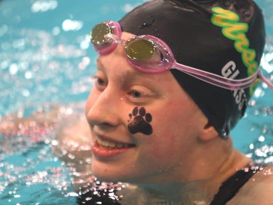 Ursuline's Megan Glass defended her state championship