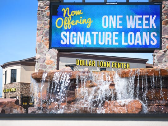 Dollar Loan Center, Monday, July 10, in Sioux Falls.
