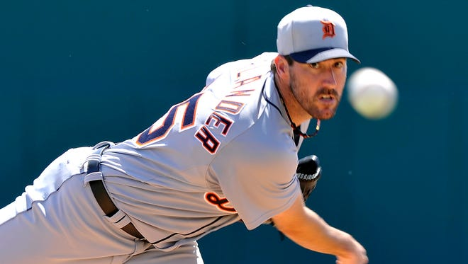 Justin Verlander will be the Detroit Tigers' opening-day starter.