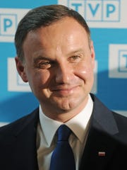 """Polish President Andrzej Duda recently signed a law banning people from accusing Poland of Holocaust atrocities committed by the Nazis and from referring to concentration camps as """"Polish death camps."""""""