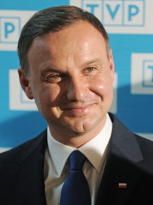 Polish President Andrzej Duda will be visiting Wallington on Wednesday night for a ceremony and reception.
